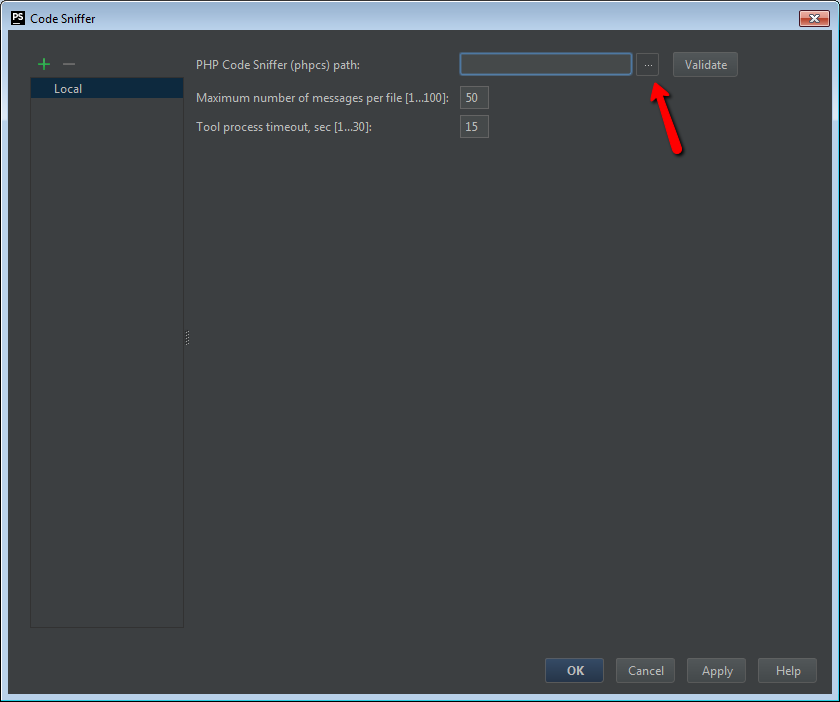 PhpStorm Settings
